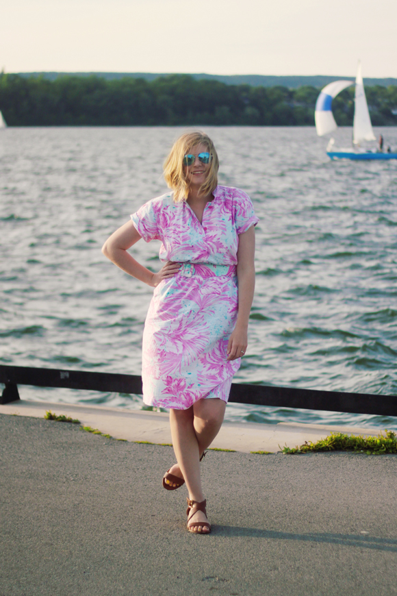 80s Barbie Dress // We So Thrifty