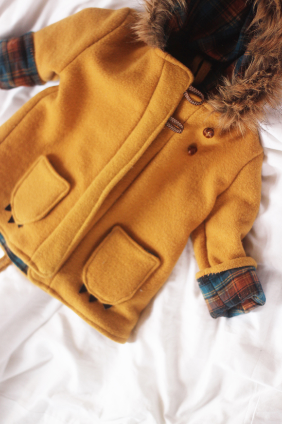 Hand-made Lion Coat from Tulip and Bunny // Julie Van Can